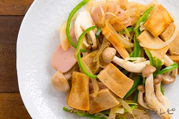 高野豆腐と魚肉ソーセージの炒め物_main2