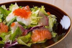 海鮮とろろサラダ