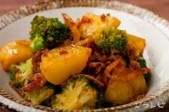 挽肉とジャガイモのコチュジャン炒め