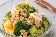 ブロッコリーとツナのマスタードサラダ