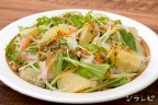 水菜とグレープフルーツのさっぱりサラダ