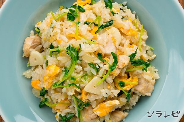 鶏肉と豆苗のエスニックご飯_main2