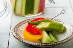 夏野菜のカラフルマリネ