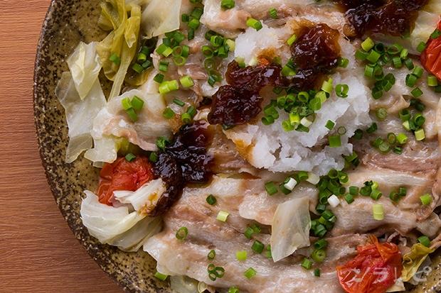 豚肉と野菜のポン酢ジュレ和え_main2