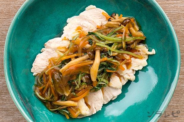 茹で鶏のさっぱり野菜あんかけ_main2
