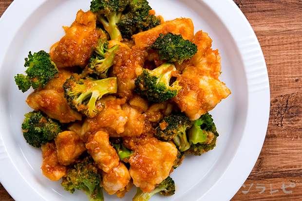 鶏肉とブロッコリーのチリソース炒め_main2