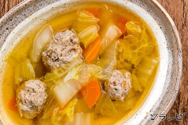 れんこん鶏団子の野菜スープ煮_main2