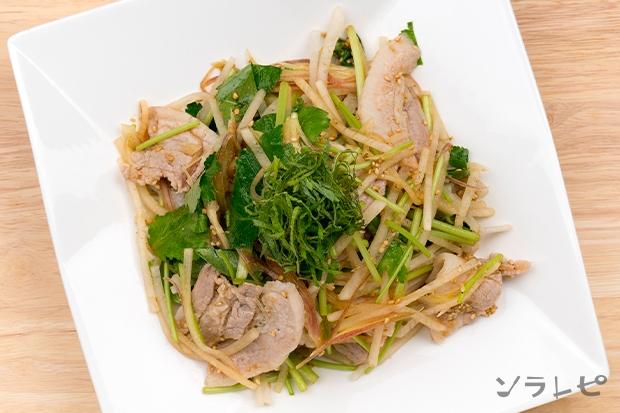 大根と香味野菜たっぷりの豚肉サラダ_main2