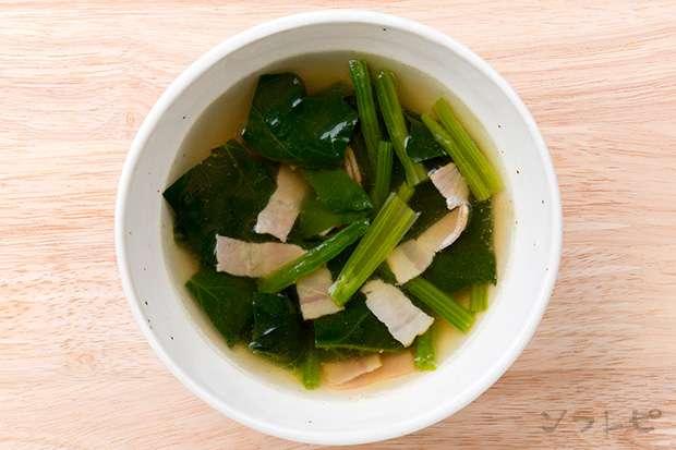 ほうれん草とベーコンのスープ_main2