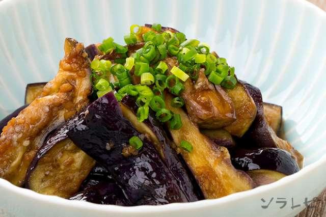 電子レンジで簡単!茄子の中華和えのレシピ|健康レシピと献立のソラレピ