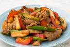 豚肉と野菜のトウチ炒め