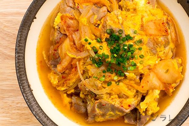 豚肉とキムチの卵とじ_main2