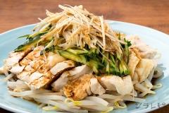 鶏ムネ肉の葱ソース和え