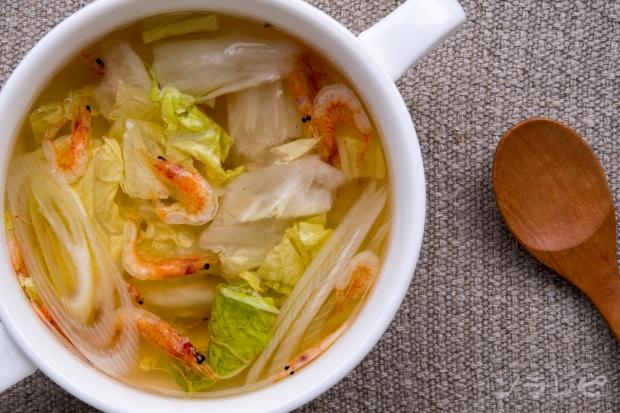 白菜と桜えびの野菜スープ_main2