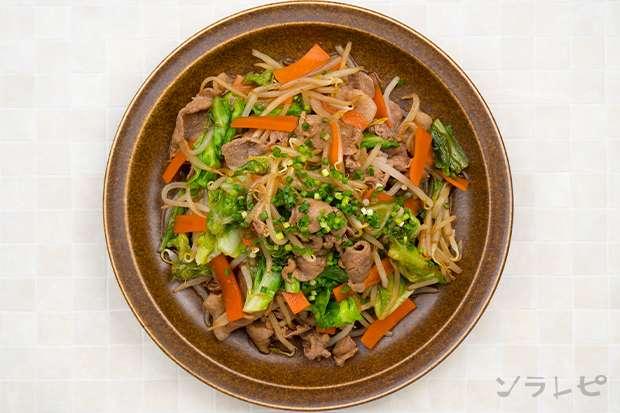 豚肉と野菜のソース炒め_main2