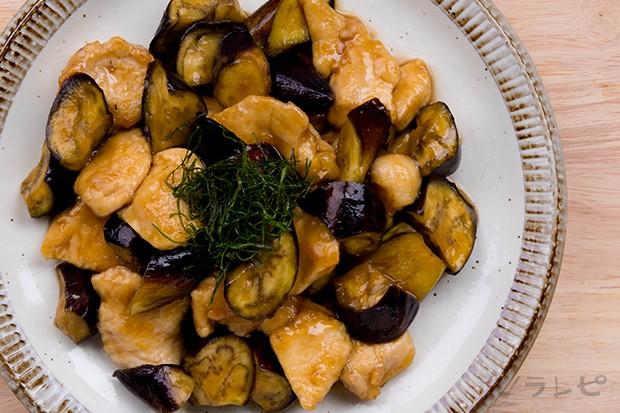 鶏肉と茄子の甘酢炒め_main2