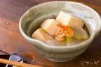 高野豆腐と桜えびの煮物