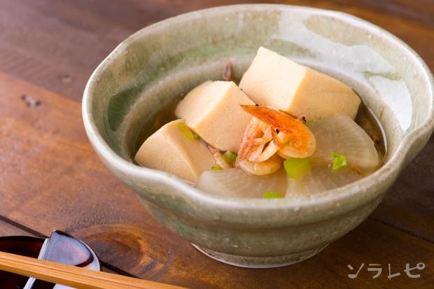 高野豆腐と桜えびの煮物_main1