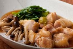 鶏肉の治部煮風