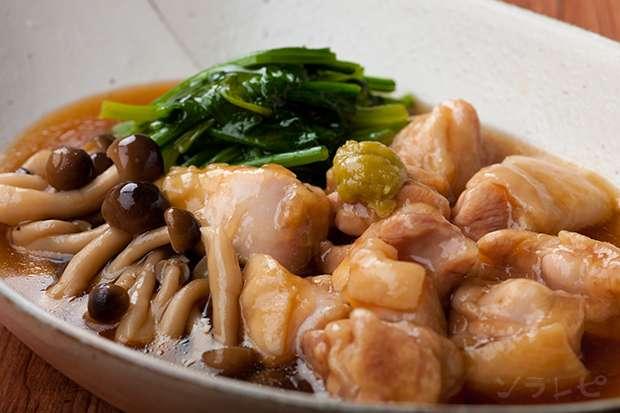 鶏肉の治部煮風_main1