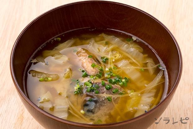 サバの水煮の味噌汁_main1