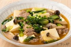 豚肉と豆腐のオイスター煮