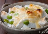 はんぺん枝豆チーズ焼き