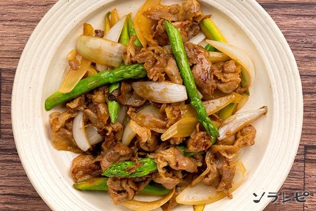 豚肉とアスパラガス炒め_main2