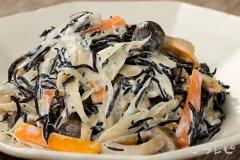 ヒジキと根菜のサラダ