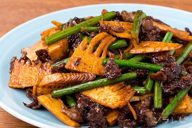 牛肉と筍のオイスター炒め_main1
