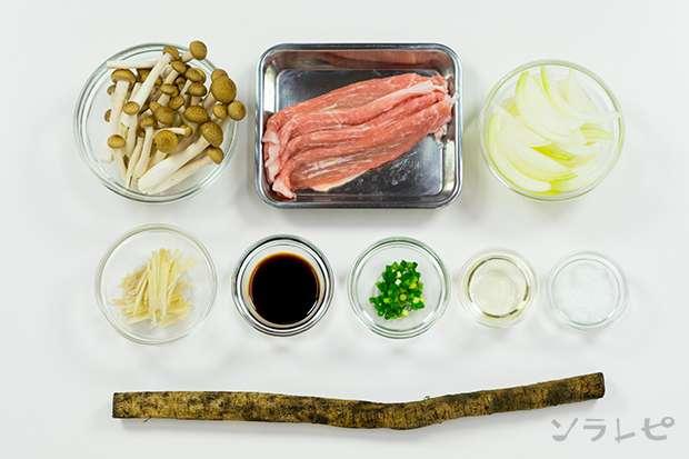 豚肉とゴボウの甘辛炒め_main3