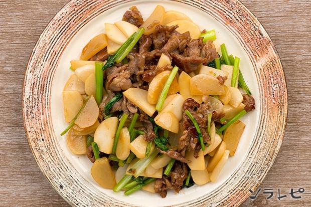 豚肉とかぶの甘辛炒め_main2