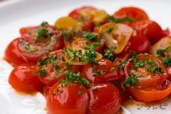 トマトガーリックソテー