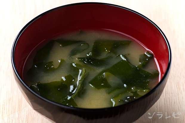 ワカメの味噌汁_main1