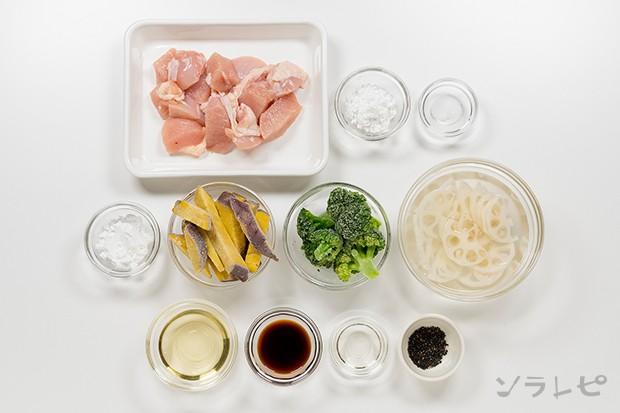 根菜とブロッコリーの甘辛炒め_main3