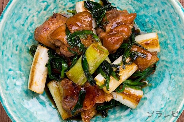 鶏肉と長ネギの甘辛炒め_main2