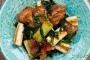 鶏肉と長ネギの甘辛炒め_sub2