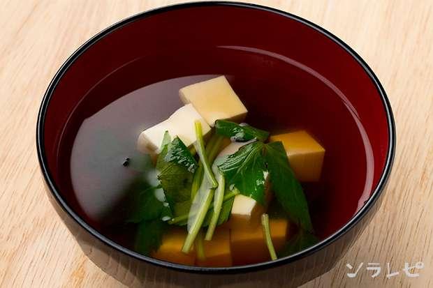 豆腐と三つ葉のすまし汁_main1