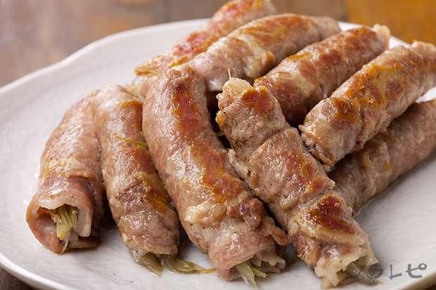 豚肉のみょうが巻き_main1