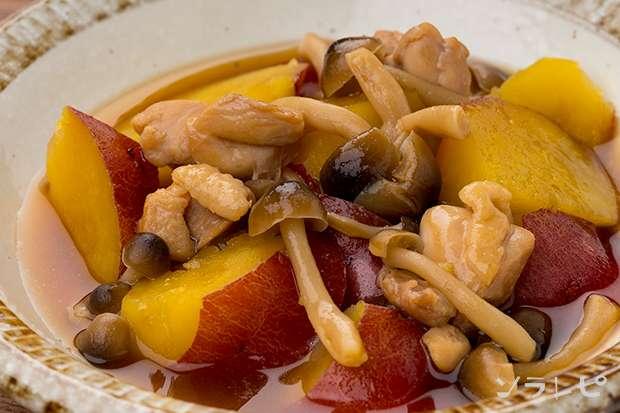 さつまいもと鶏肉の煮物_main1