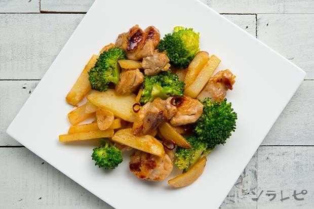 ジャガイモとブロッコリーのガーリック炒め_main2