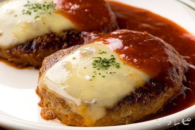 チーズハンバーグレシピ