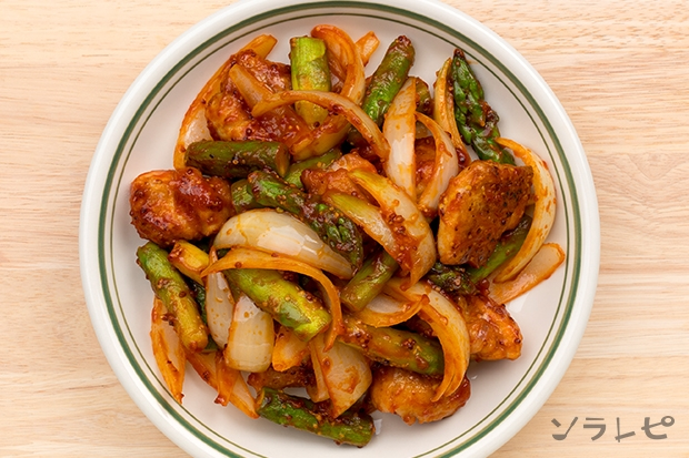 鶏肉のケチャップ粒マスタード炒め_main2