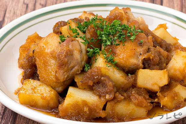 チキンとポテトのソテーオニオンソース_main1