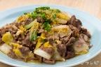 牛肉と白菜の中華風炒め