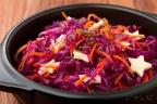 紫キャベツとニンジンのサラダ
