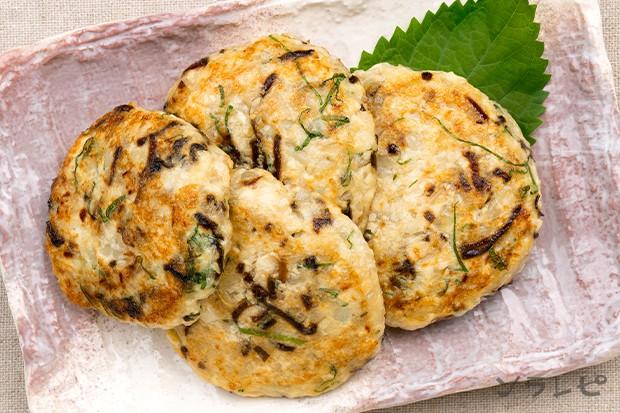 塩昆布と大葉の豆腐ハンバーグ_main2