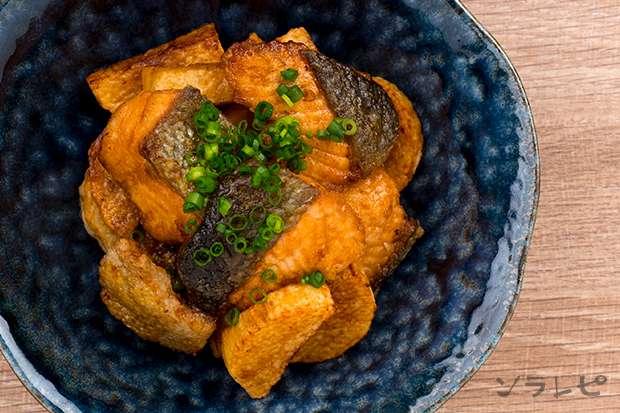 鮭と長芋の揚げ漬け_main2