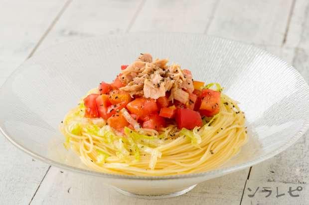 フレッシュトマトの冷製パスタ_main1