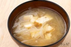 厚揚げと大根の味噌汁